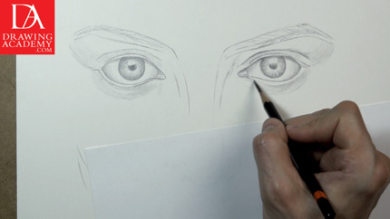 Drawing Lesson 19, Part 2 - Drawing an Eye